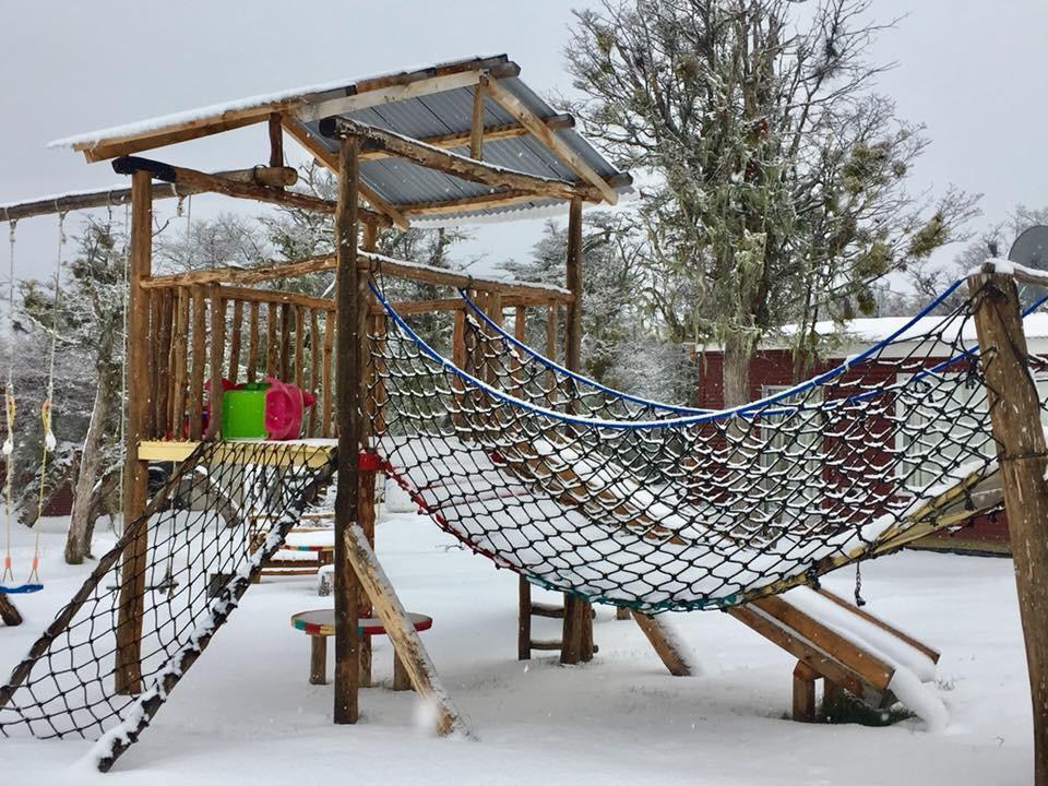 Parque Infantil en Invierno